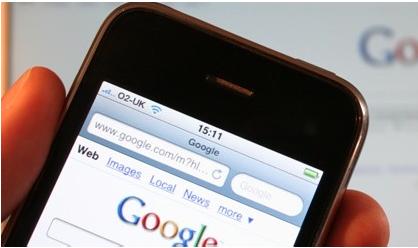 Top 5 das pesquisas mobile (por sector de actividade)
