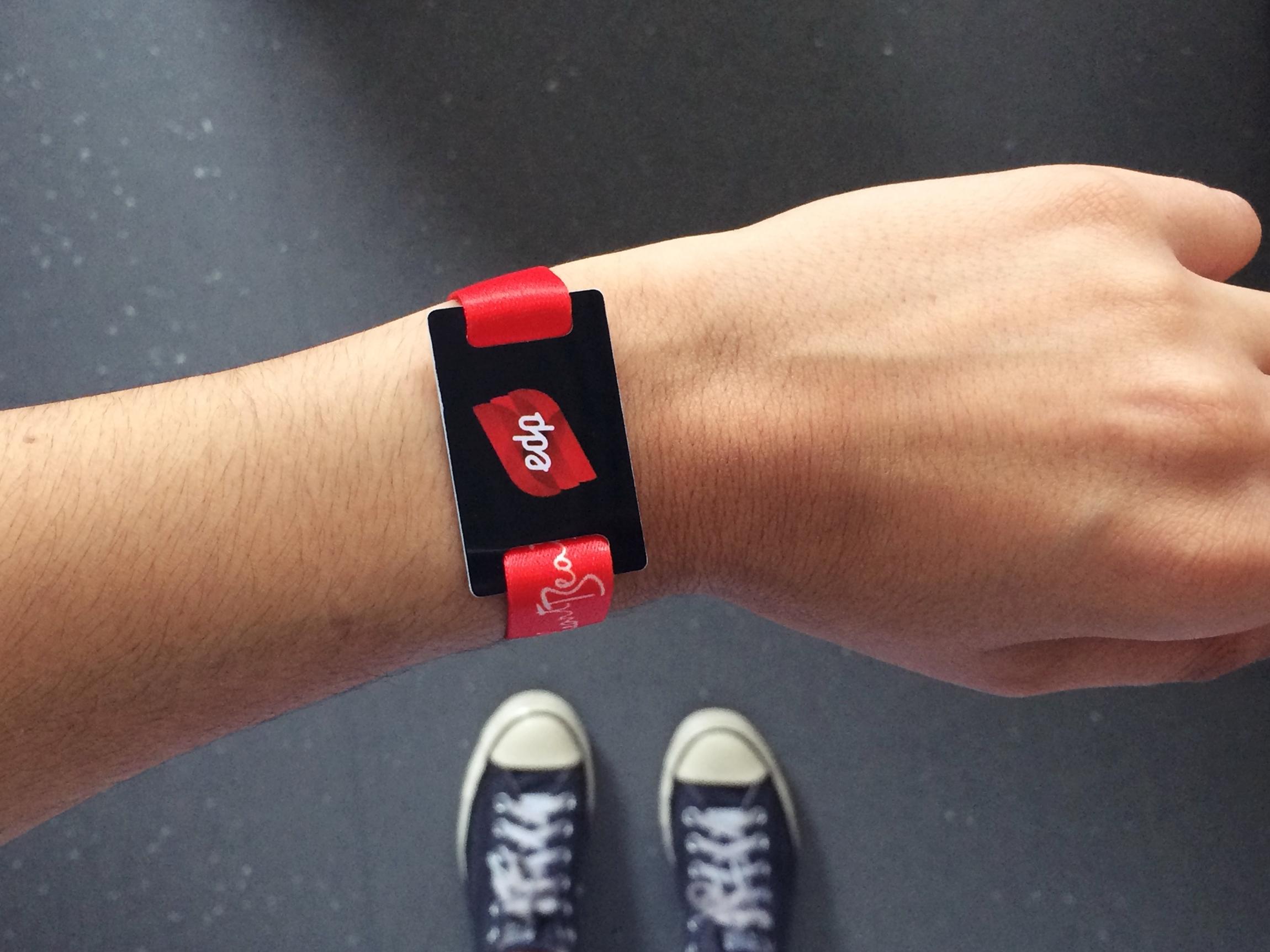 Pulseiras NFC – O Futuro dos Eventos
