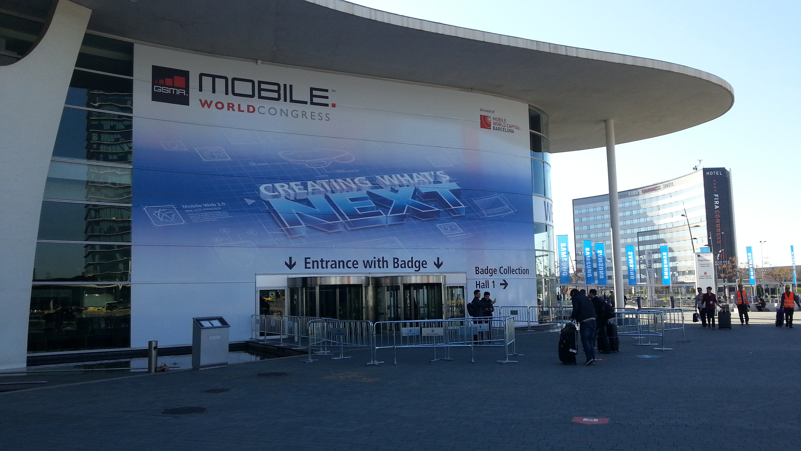 Mobile World Congress 2014 – Chegámos!