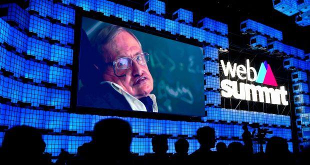 Web Summit 2017 – Stephen Hawking Sobre a Inteligência Artificial