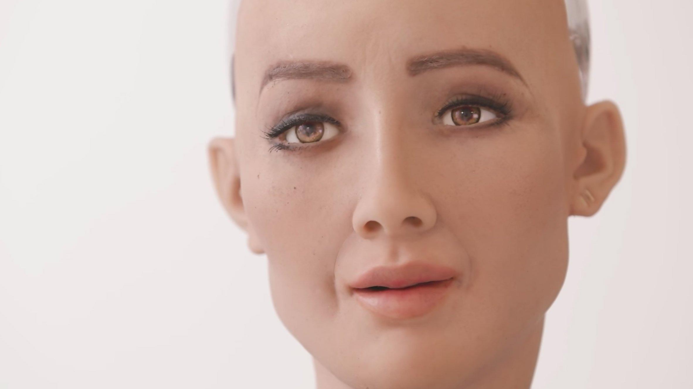 Web Summit 2017 – Sophia, a Robô Cidadã